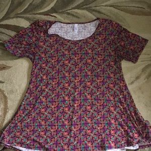 Patterned LuLaRoe Flowing Perfect T!